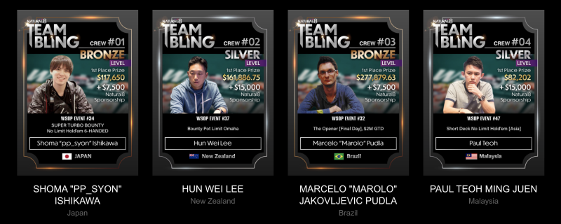 Team Bling 1-4