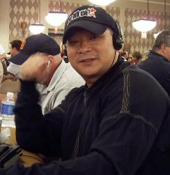 Poker legend Johnny Chan