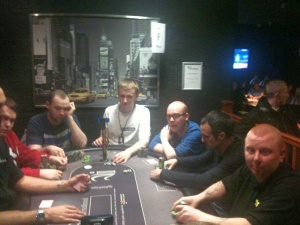 Captain on the final table (first one the right)