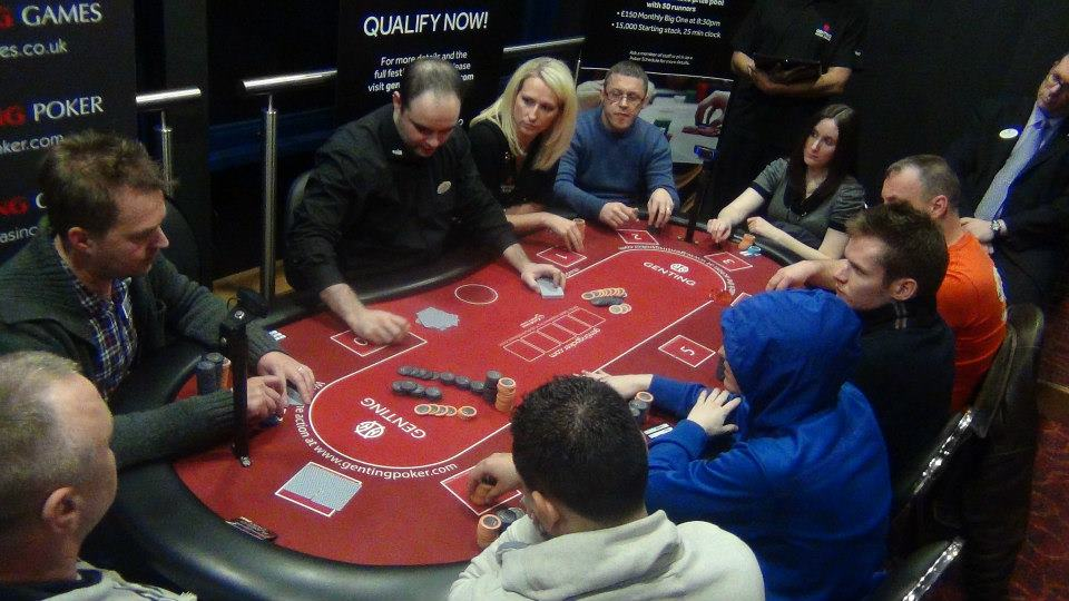 Genting Poker Series Final Table