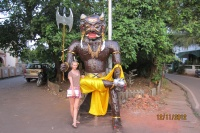 With a devil built for Diwali celebrations