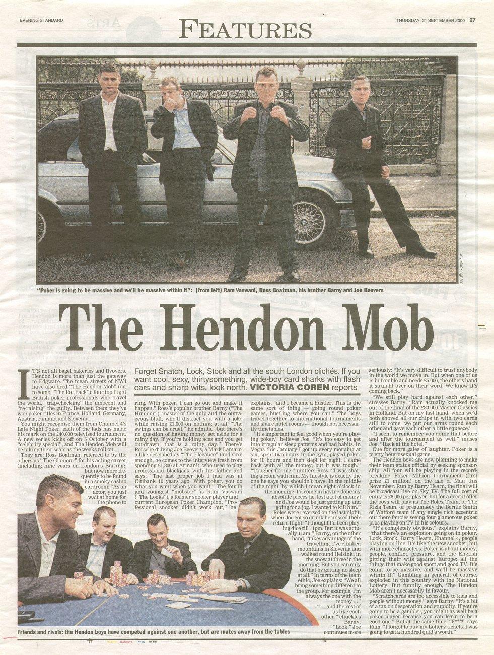 the hendon mob